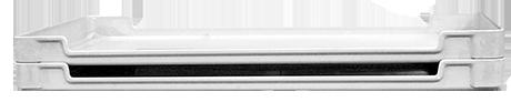 Fiberglass Material Handling Ventilation Trays by MFG Tray