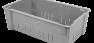 Fiberglass Material Handling Wash Box in gray by MFG Tray